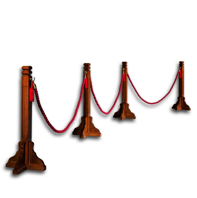 Transenne con cordone banchi chiesa arredi sacri for Arredi sacri